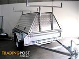 ALUMINIUM TOP TRADESMAN TRAILER 7X5