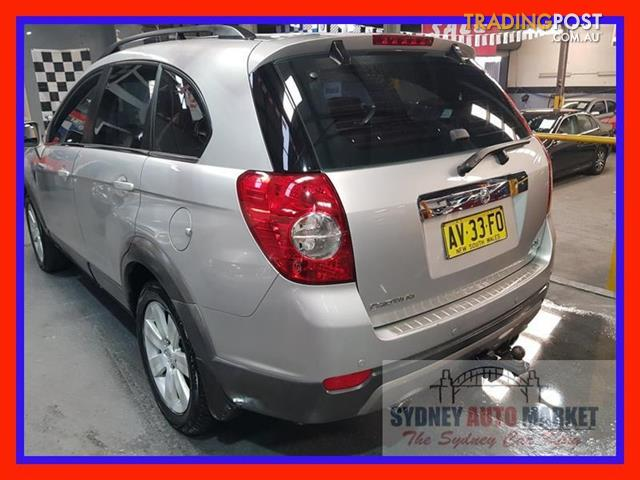 2006 Holden Captiva Lx 4x4 Cg 4d Wagon For Sale In Condell Park