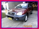 2004  Hyundai Santa Fe   Wagon
