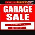 GARAGE SALE (CORNUBIA) - Sat 27/5/17 from 7AM