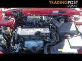10/2000 Hyundai Accent  2Dr Hatch Manual petrol 1.5 ltr 4cyl MANUAL GEARBOX