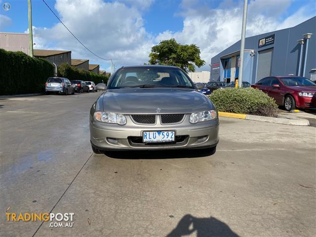 2002 Holden Commodore Equipe