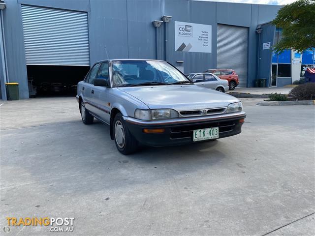 1992 Holden Nova SLX