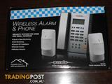 WIRELESS HOME HOUSE ALARM & PHONE PENDO NEW 3X SENSORS & REMOTES