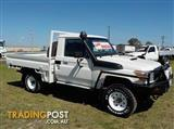 2011 TOYOTA LANDCRUISER WORKMATE VDJ79R CAB CHASSIS