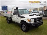 2007 TOYOTA LANDCRUISER WORKMATE VDJ79R CAB CHASSIS