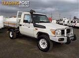 2010 TOYOTA LANDCRUISER WORKMATE VDJ79R CAB CHASSIS