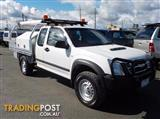 2011 ISUZU D-MAX SX (No Series) CAB CHASSIS