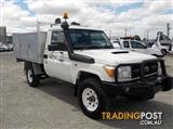 2009 TOYOTA LANDCRUISER WORKMATE VDJ79R CAB CHASSIS