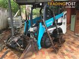 2011 Toyota Skid Steer 30-5SDK with Auger and bits