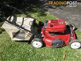 TORO self propelled 4 stroke mower with 22 inch cut