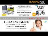 5kW Home Solar System (Tier 1 Brand) + Complete Home CCTV Package - NO.1 MEGA DEAL!!!