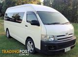 2007 TOYOTA HIACE COMMUTER KDH223R MY07 BUS