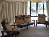 Solid Rosewood Lounge Suite
