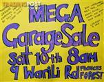 MEGA Moving Overseas Garage Sale!!10th December 2016 Time: 7:30am until everything is sold!! Location: 9 Warili Road, Frenchs Forest, NSW, 2086