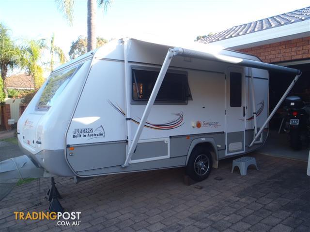 Creative New JURGENS TRAVADO TR2505 Caravans For Sale