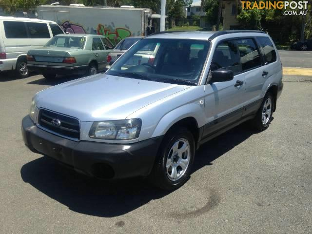 2003 subaru forester xs my04 4d wagon for sale in greenslopes qld 2003 subaru forester xs my04. Black Bedroom Furniture Sets. Home Design Ideas
