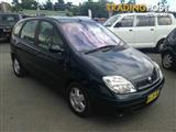2004  RENAULT SCENIC Expression MY03 HATCHBACK