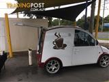 Coffee van cart business