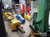 Asst  Machinery -grapples, hydraulic hammers, buckets