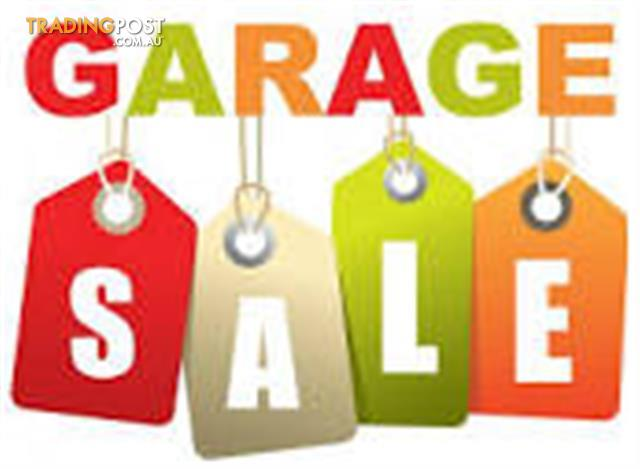 Garage Sale: 27 August: 9am-2pm: Mount Waverley: Great Bargains, Going Overseas, Everything must go