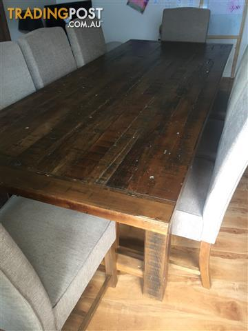 Harndorf Super Amart 2400 Dining Table 8 Chairs And Coffee For Sale In Buderim QLD