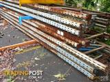 USED DEXION PALLET RACKING FRAMES 3M HIGH