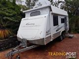 2010 Jayco Sterling OUTBACK 17.55 Pop-Top, most popular top model