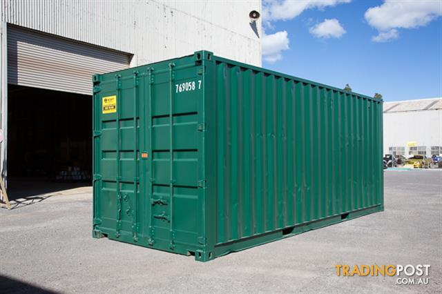 Refurbished Painted 20ft Shipping Containers Canberra From 3680