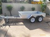 8x5 Tandem Trailer Hot Dipped Galvanized