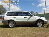 2005 SUBARU FORESTER XS MY06 4D WAGON