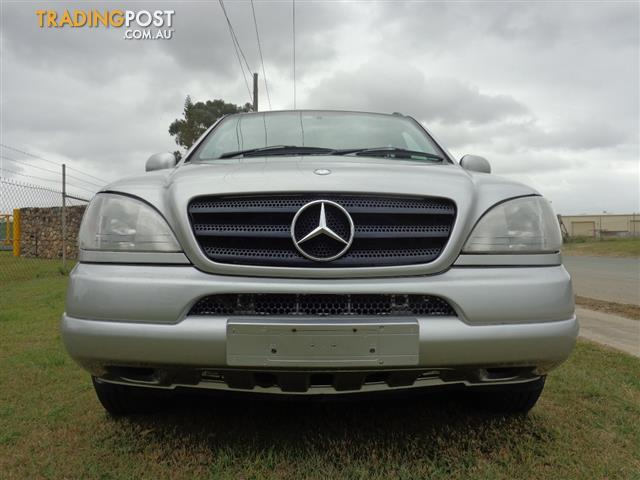 1999 mercedes benz ml 320 luxury 4x4 4d wagon for sale in brendale qld 1999 mercedes benz ml. Black Bedroom Furniture Sets. Home Design Ideas