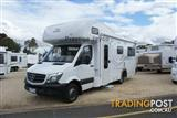 2016  JAYCO CONQUEST MOTORHOME MS24-1 CAB CHASSIS