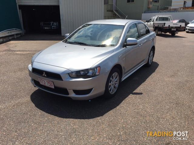 2010 MITSUBISHI LANCER ACTIV CJ MY10 4D SEDAN