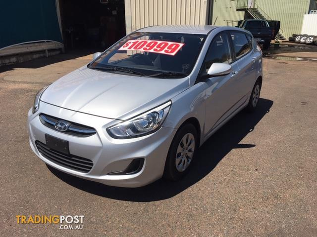 2016 Hyundai Accent Active Rb4 My16 5d Hatchback