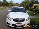 2012 HOLDEN CRUZE CDX JH MY12 4D SEDAN