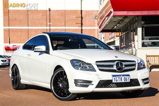 2013 Mercedes Benz C350 C204 Coupe
