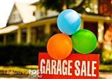 GARAGE SALE - 21ST JANUARY 2017 - 9AM-1PM - THORNTON