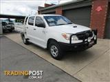 2008 TOYOTA HILUX SR (4x4) KUN26R 08 UPGRADE DUAL C/CHAS