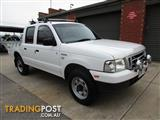 2005 FORD COURIER GL (4x4) PH CREW CAB P/UP