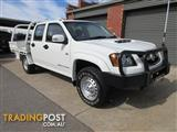 2010 HOLDEN COLORADO LX (4x4) RC MY10 CREW C/CHAS