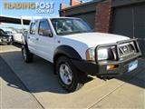 2006 NISSAN NAVARA DX (4x4) D22 SERIES 2 DUAL CAB P/UP