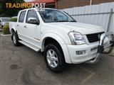 2003 HOLDEN RODEO LT (4x4) RA CREW CAB P/UP