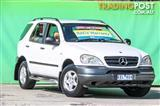 1999  Mercedes-Benz ML320 Luxury W163 Wagon