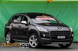 2011  Peugeot 3008 XSE T8 Hatchback