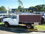 1989 Ford F150 (4x4)  Cab Chassis