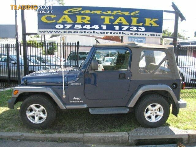 2004 Jeep Wrangler Sport Softtop