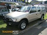 2002 Holden Rodeo $66. TAP Centrelink Fina Dual Cab