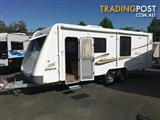 2011  JAYCO STIRLING  SLIDE OUT CARAVAN