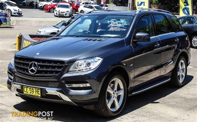 2012 mercedes benz ml 250 cdi bluetec 4x4 166 4d wagon for Mercedes benz ml 2012 for sale